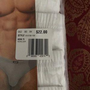 3956a6ae271a Equipo Underwear & Socks - Men's Equipo Bikini Briefs Underwear 4 pack Size  L